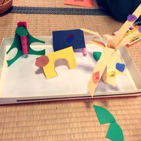 紙で作る牧場 イメージ画像