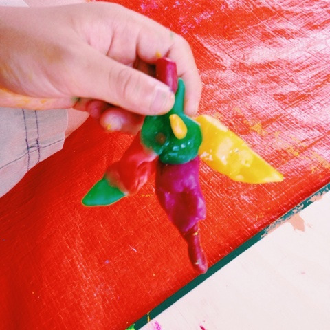 カラフル粘土と貝殻でオブジェを作ろう! イメージ画像