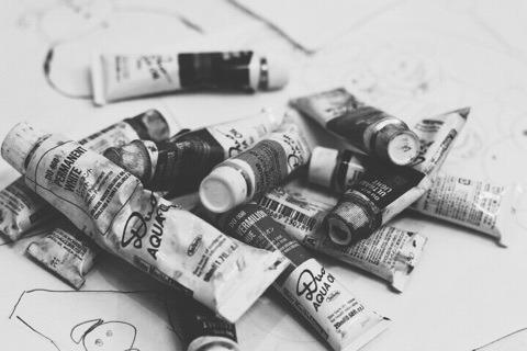 油絵の具のレッスン イメージ画像