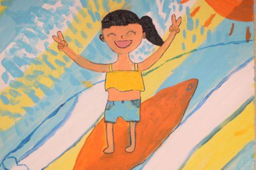 美浜スクール 子ども絵画クラス ゆかちゃんの作品 イメージ画像