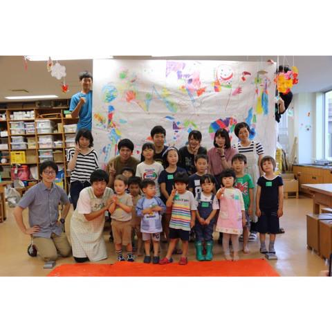 アトリエカラフル×日本福祉大学 江村ゼミ コラボ子ども造形教室 イメージ画像