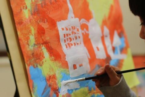 子ども絵画教室始まりの1ヶ月 イメージ画像