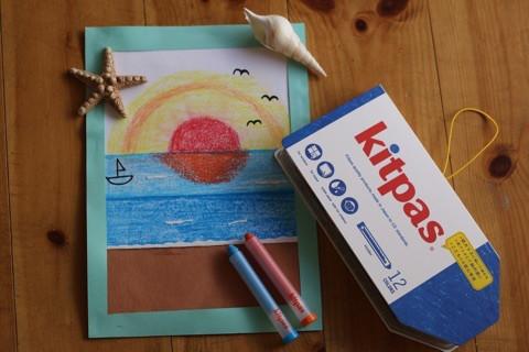 おじいさんおばあさん絵画教室 『海の絵』 イメージ画像