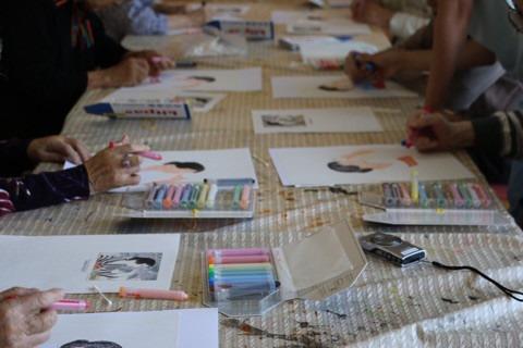 おじさんおばさんの絵画教室 イメージ画像