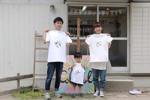 『カラフルART Tシャツワークショップ in アトリエ 』 イメージ画像