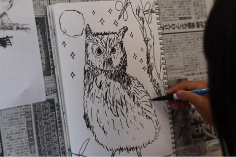 ペン画の楽しさ♪ イメージ画像
