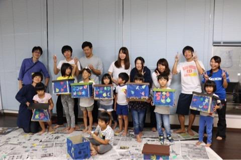 『アトリエカラフル 子ども造形教室♪ in 日本福祉大学美浜キャンパス』 イメージ画像
