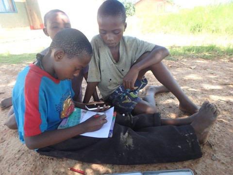 『ザンビアの子どもたちとのプロジェクト』お返事のやりとり♪ イメージ画像