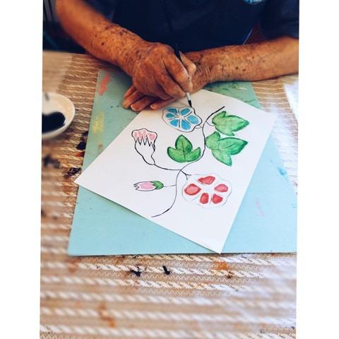 おじいちゃんおばあちゃん絵画教室♪ イメージ画像