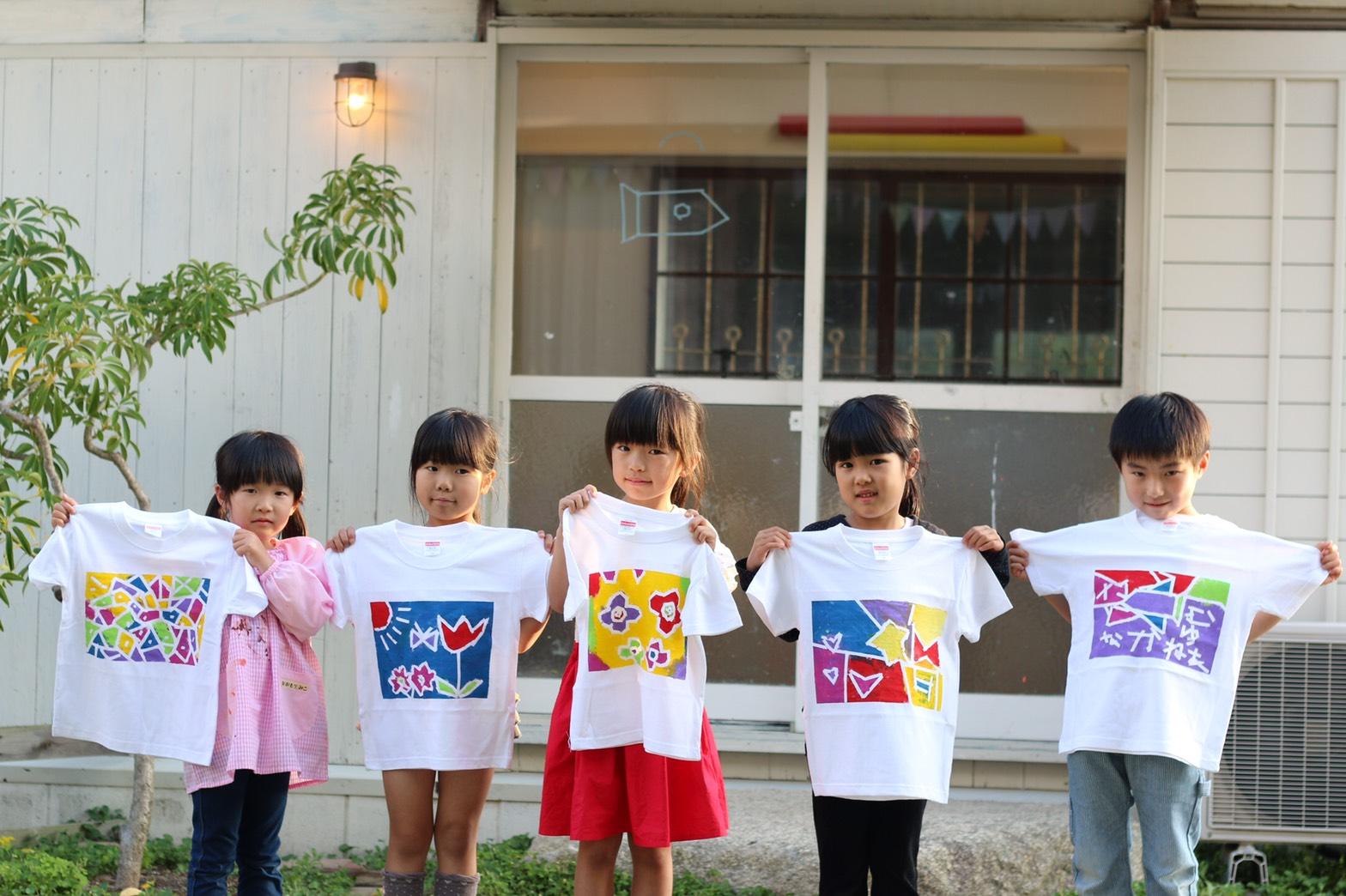 カラフルTシャツ♪ イメージ画像