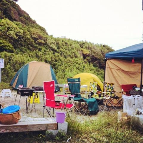 海キャンプ イメージ画像