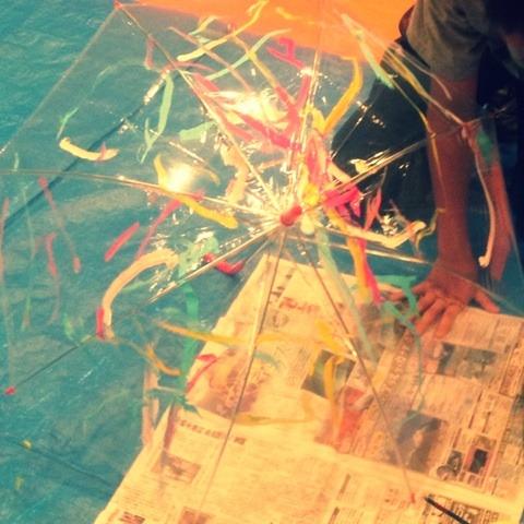 傘に絵を描こう イメージ画像