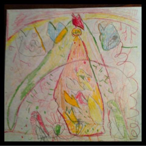 娘の描く絵 イメージ画像