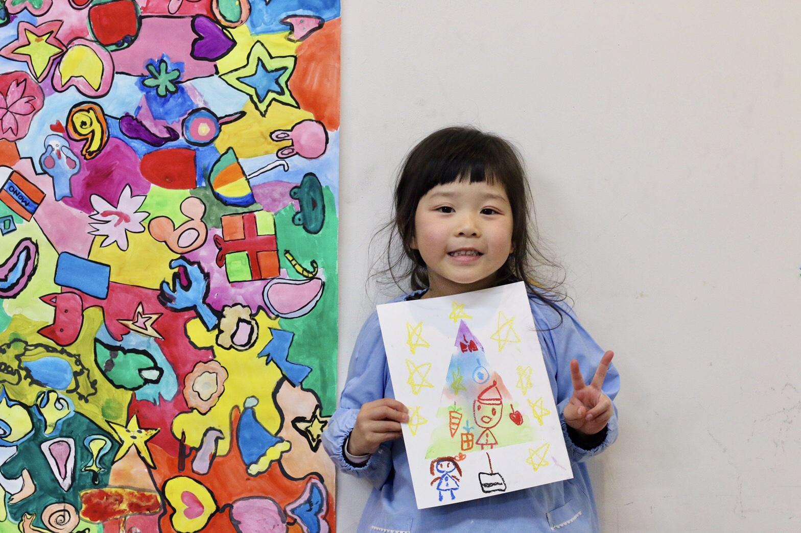 作品展を終えた子どもたち イメージ画像