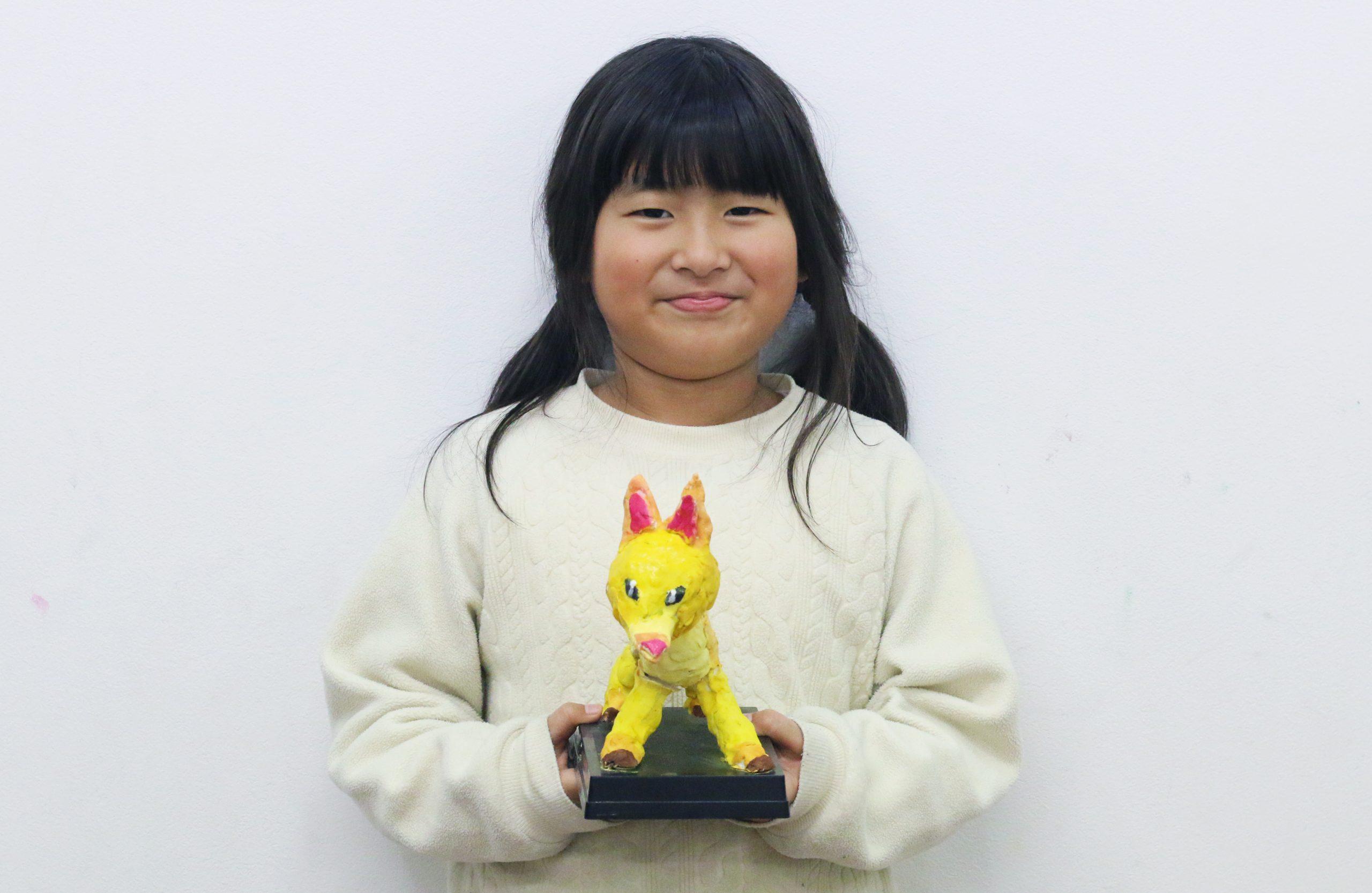 『きつね』 造形応用クラス 赤坂綺香ちゃん イメージ画像