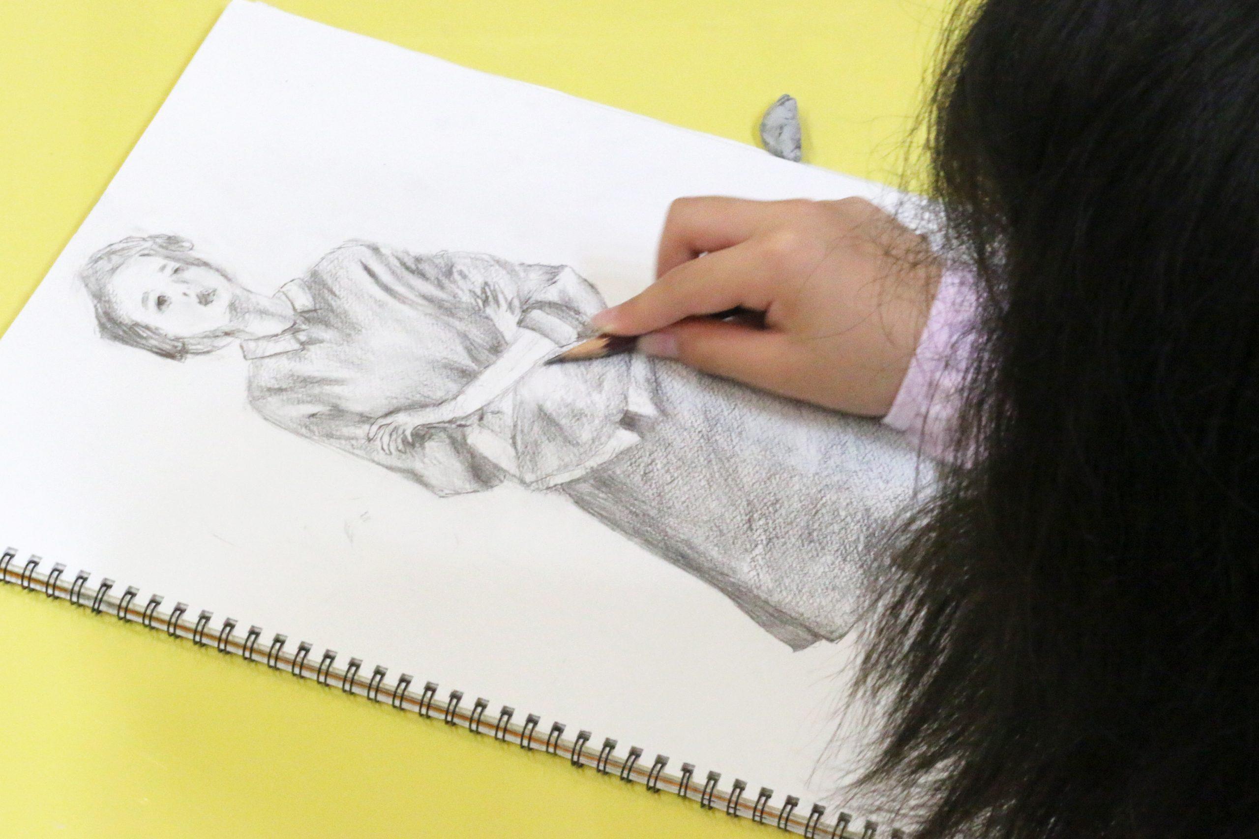 絵画クラス デッサン&クロッキー イメージ画像