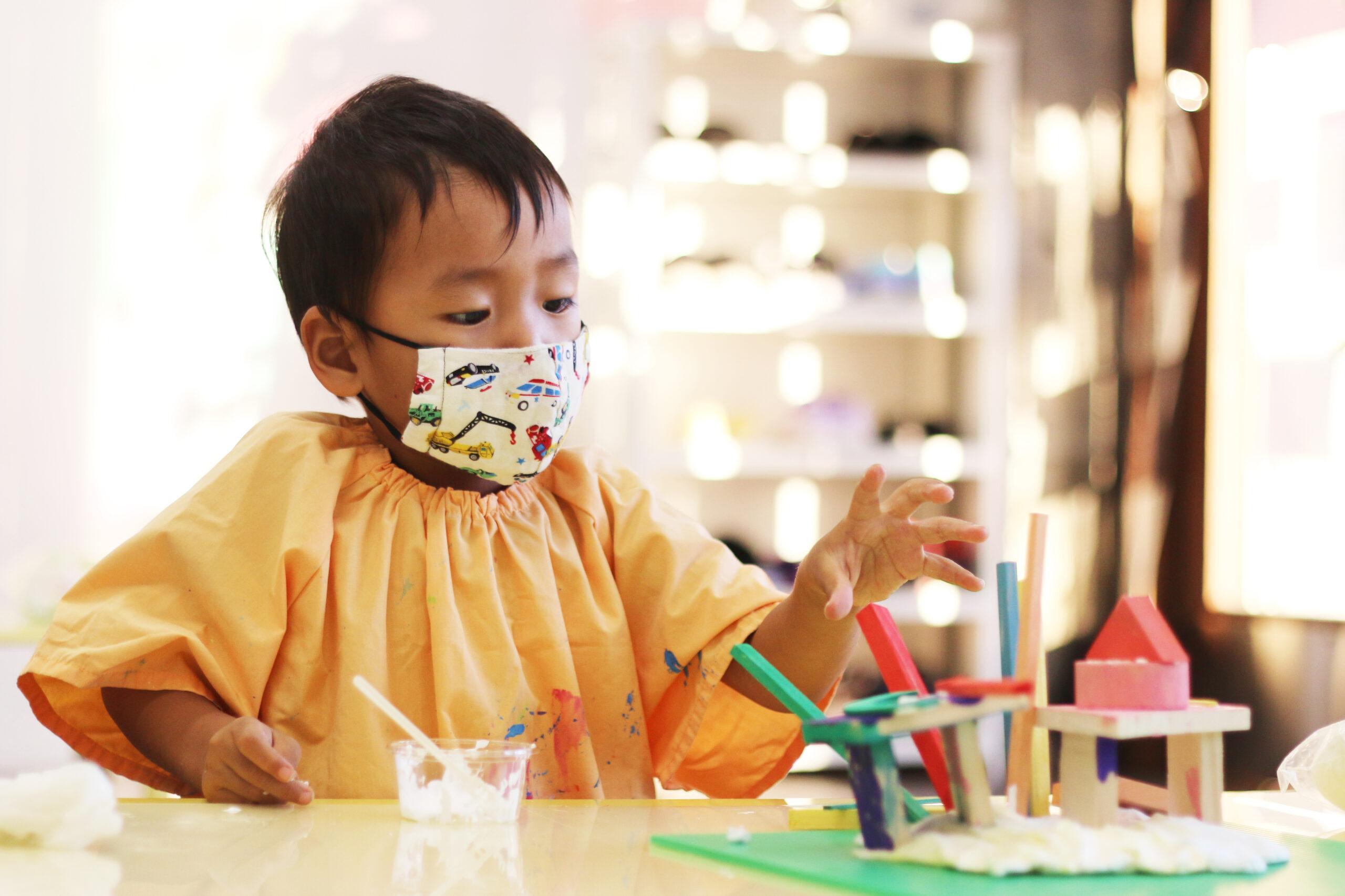 造形クラスの子どもたち♪2 イメージ画像