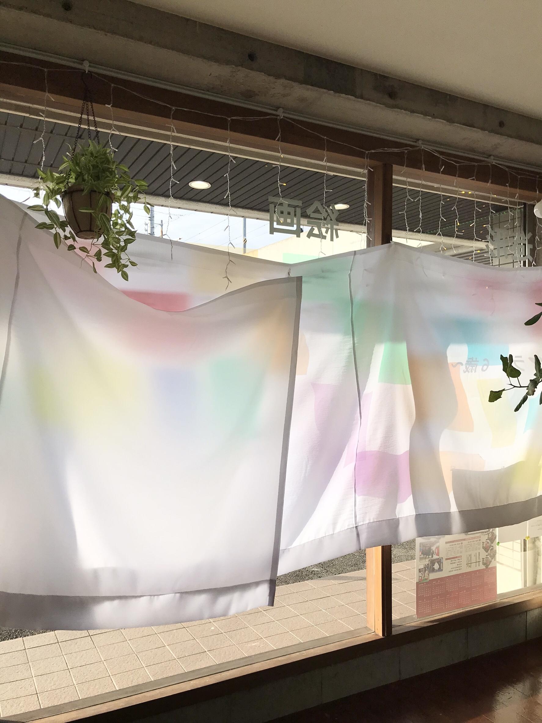 陽射しをやわらげるカーテンをつけました♪ イメージ画像