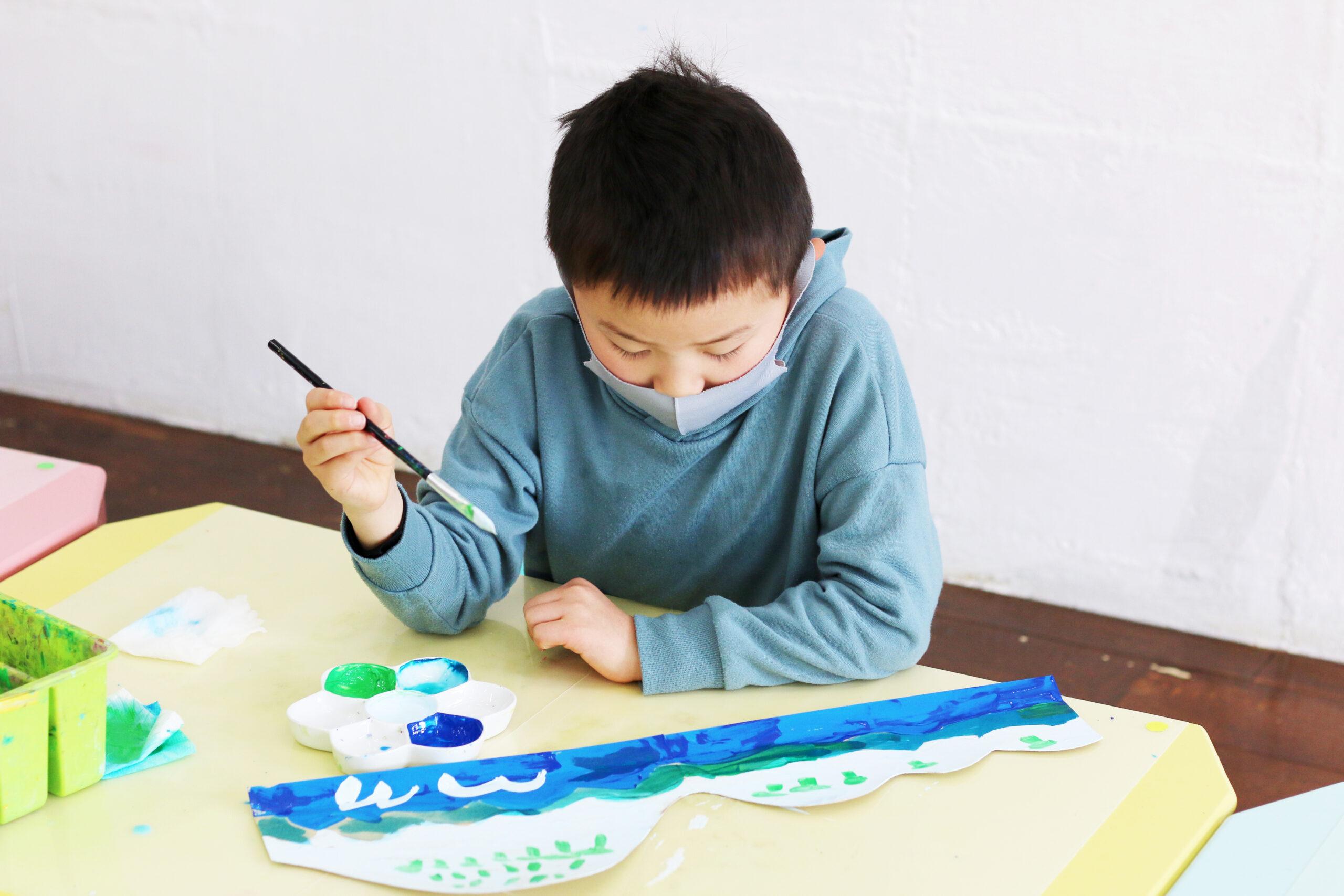 絵画&造形ミックスレッスン 造形応用クラス イメージ画像