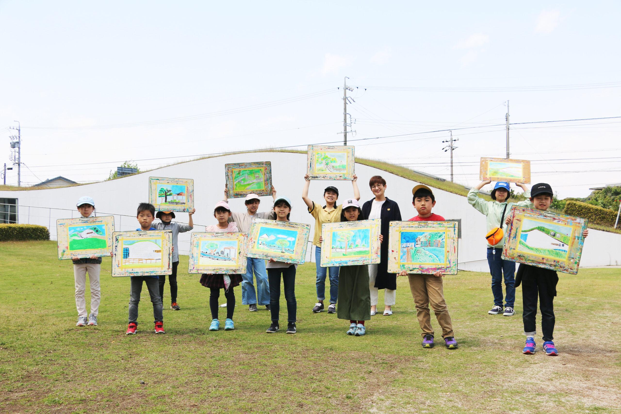 野外スケッチ会(5/1 新美南吉記念館) イメージ画像