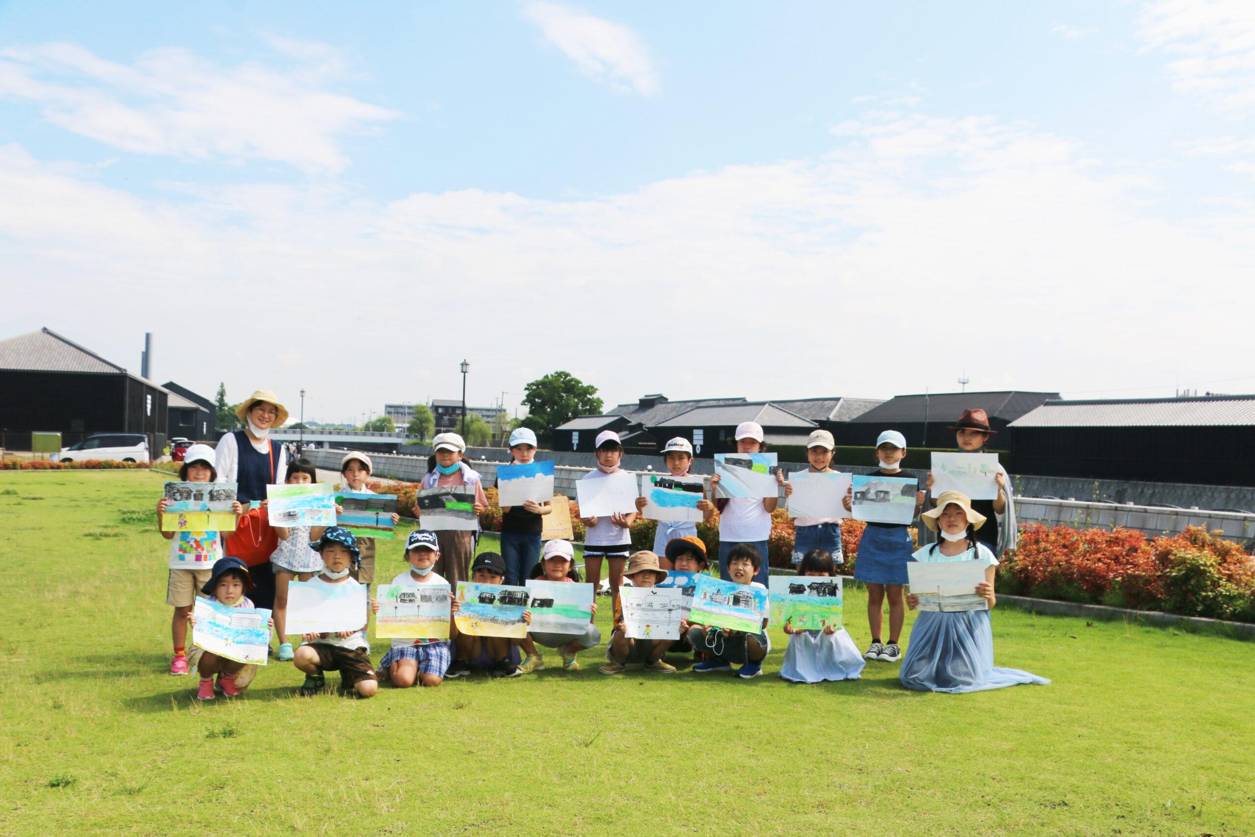 アトリエカラフル野外スケッチ会 in 半田運河(2021/7/11) イメージ画像